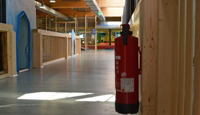 Ketteler Hof Indoor Spielplatz - Innenansicht